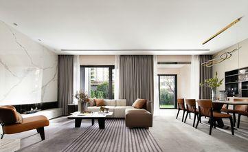 豪华型140平米别墅现代简约风格客厅设计图