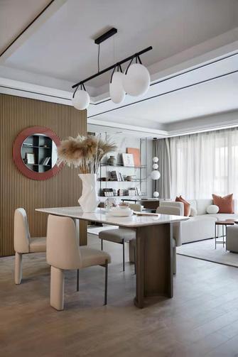 15-20万120平米四室一厅轻奢风格餐厅装修案例