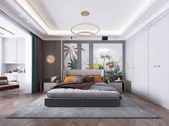 20万以上120平米三室两厅美式风格卧室图