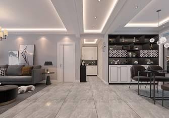 20万以上120平米三室两厅现代简约风格客厅装修案例