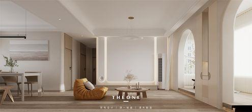 10-15万100平米一室两厅现代简约风格客厅设计图