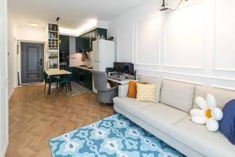50平米中式风格客厅装修效果图