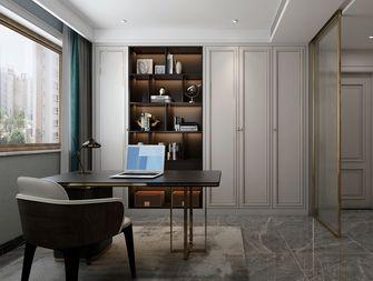 豪华型140平米四室两厅欧式风格书房图片大全