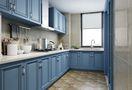 三室两厅地中海风格厨房效果图