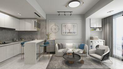 经济型60平米公寓现代简约风格客厅装修图片大全