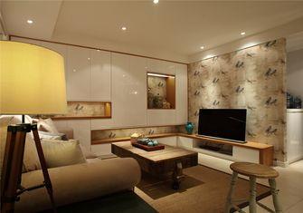 富裕型60平米公寓美式风格客厅图
