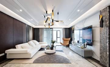 140平米别墅轻奢风格客厅设计图