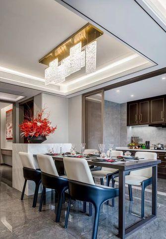 120平米三室一厅中式风格餐厅设计图