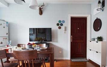 经济型80平米一室两厅北欧风格餐厅设计图