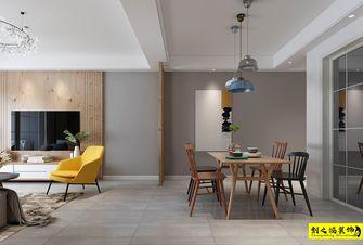 经济型90平米四室两厅北欧风格餐厅图