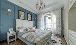 富裕型140平米三室两厅美式风格卧室图片