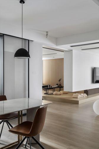 富裕型130平米三室三厅现代简约风格餐厅图