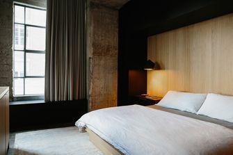 富裕型90平米公寓工业风风格卧室设计图