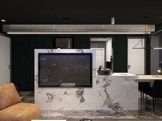 60平米一居室混搭风格客厅欣赏图