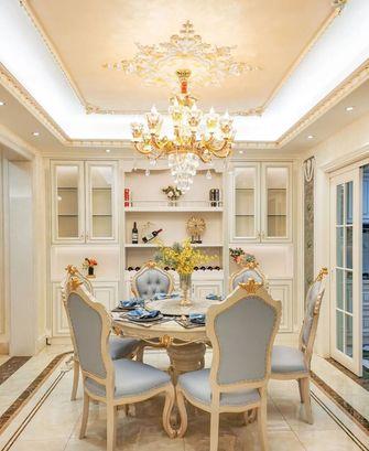 20万以上140平米别墅法式风格餐厅装修案例