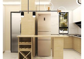 经济型60平米一室一厅日式风格餐厅装修效果图