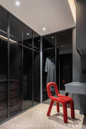 富裕型140平米四室两厅混搭风格衣帽间装修案例