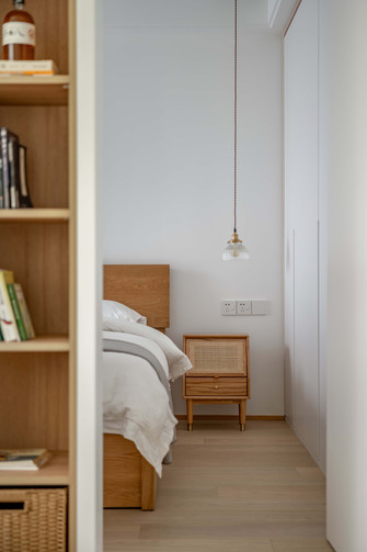 豪华型130平米三室两厅日式风格卧室图片大全