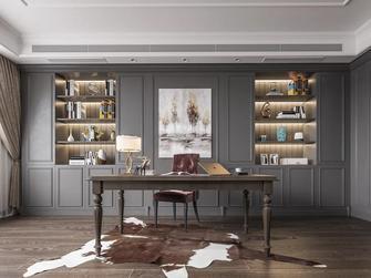 20万以上140平米四室两厅轻奢风格书房欣赏图