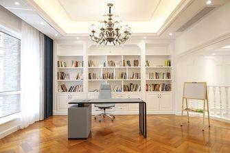 20万以上140平米别墅欧式风格书房设计图