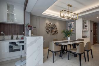 富裕型90平米三室三厅欧式风格餐厅设计图