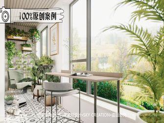 120平米三法式风格阳台设计图