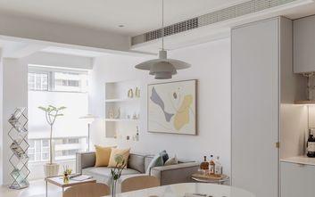 富裕型70平米一室两厅北欧风格客厅图片