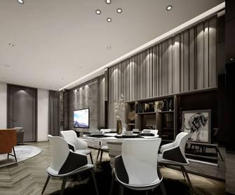 富裕型130平米复式轻奢风格餐厅装修案例