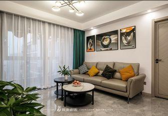 经济型90平米三室一厅现代简约风格客厅图片大全