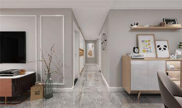 130平米三室两厅现代简约风格走廊效果图