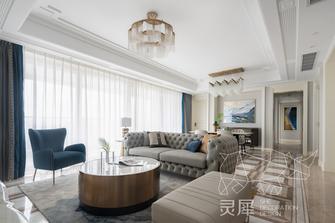 140平米三室一厅欧式风格客厅图片
