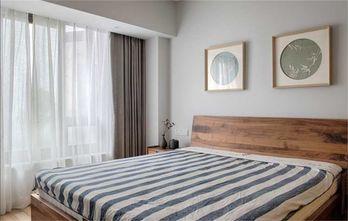 豪华型100平米三室两厅日式风格卧室欣赏图