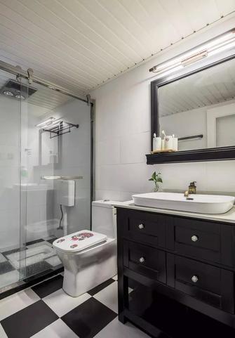 富裕型120平米三室两厅美式风格卫生间欣赏图