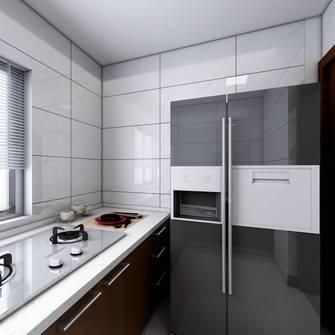 富裕型80平米混搭风格厨房欣赏图