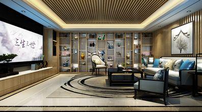 豪华型140平米别墅中式风格影音室设计图