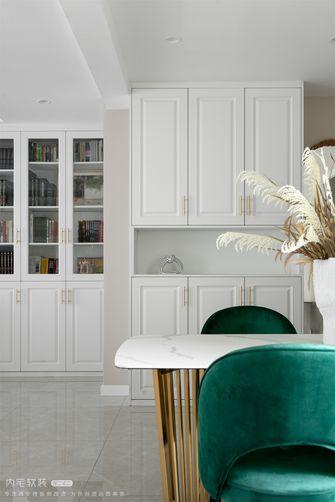 20万以上130平米三室两厅法式风格餐厅装修效果图