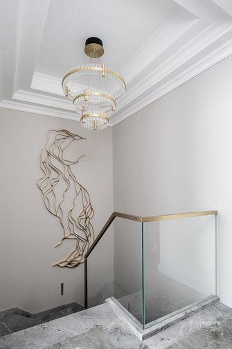 豪华型140平米别墅美式风格楼梯间图