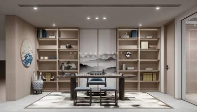 豪华型140平米四室五厅混搭风格书房效果图