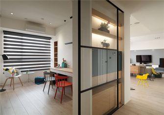 20万以上80平米三室一厅北欧风格书房装修效果图