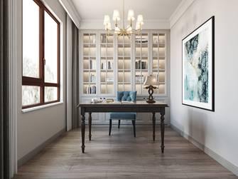 20万以上140平米三室两厅欧式风格书房图