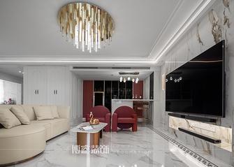 豪华型140平米四室两厅轻奢风格客厅图片