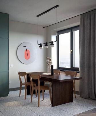 60平米一室一厅北欧风格餐厅效果图