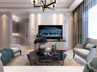 20万以上100平米三室三厅轻奢风格客厅图片