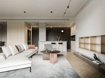 120平米一室一厅法式风格客厅图片大全