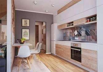 50平米一室一厅港式风格厨房图