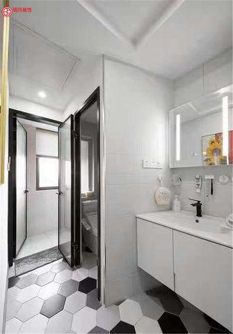 20万以上三室两厅现代简约风格卫生间设计图
