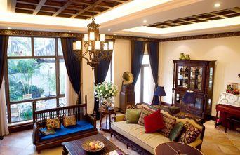 经济型140平米东南亚风格客厅效果图