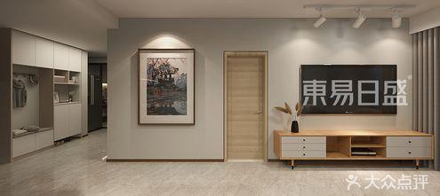 90平米公寓现代简约风格玄关设计图