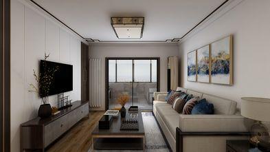 富裕型80平米中式风格客厅设计图