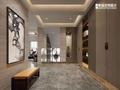 20万以上140平米复式中式风格走廊装修图片大全